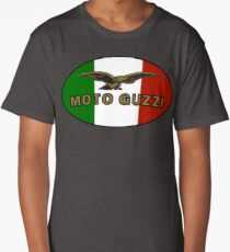 Moto Guzzi ITALIAN FLAG Long T-Shirt