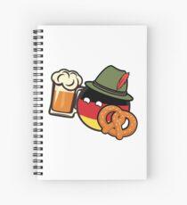 Deutschland! Spiral Notebook