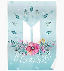 New Logo - BTS x ARMY Poster