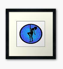 Modern Yoga Framed Print