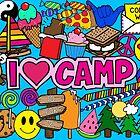Ich liebe Camp von Corey Paige Designs