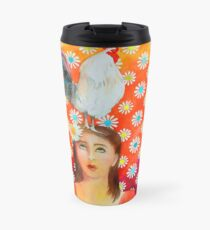 There's something on your head! Travel Mug