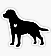 Labrador Love Sticker