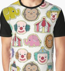 circus cookies multi Graphic T-Shirt