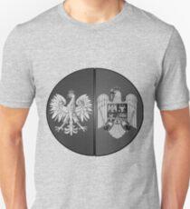 Polish Romanian Ancestry B&W Vintage-look T-Shirt
