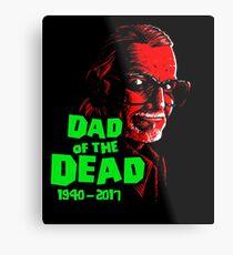 Dad Of The Dead Metal Print