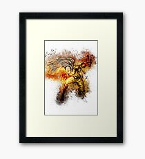 Saitama - One Punch Man Framed Print