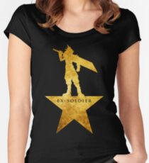 Ex-Soldier Women's Fitted Scoop T-Shirt