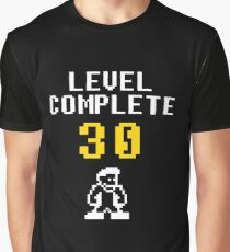 Level 30 complete - birthday Graphic T-Shirt