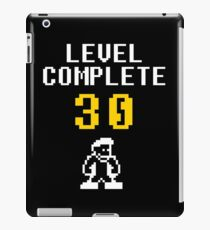Level 30 complete - birthday iPad Case/Skin
