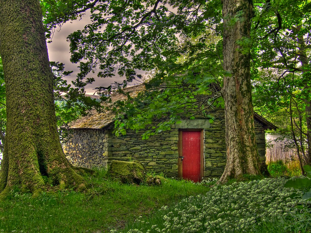 Grassmere Boathouse by Stephen Paylor