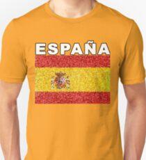 Espana Artistic Spanish Heritage Spain Flag T-Shirt