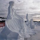 Snow Carving at Rendezvous by Yukondick