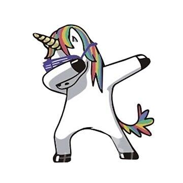 Dabbing Rave Unicorn by katedylan