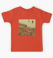 A Saturday Morning in Loch Ness Kids Tee