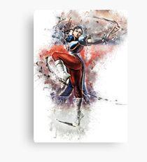 Chun Li - Street Fighter Metal Print