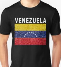 Venezuela New Stained Glass-style Heritage Flag T-Shirt