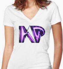 KP UNIQUE Shirt mit V-Ausschnitt