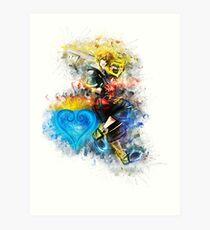 Sora - Kingdom Hearts Art Print