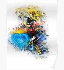 Sora - Kingdom Hearts Poster