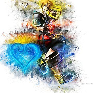 Sora - Kingdom Hearts de puck4001