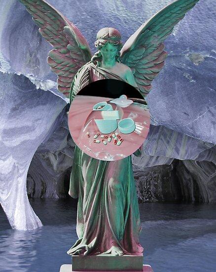 Vaporwave Angel Pills by Nipp3