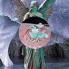 Vaporwave Engel Pillen von Nipp3