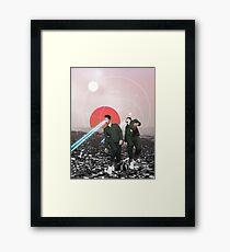 Atomic Boys Framed Print