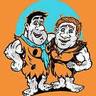 Tuff Toons - BED ROCK BROMANCE by Gilles Bone