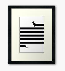 (Very) Long Dog Framed Print