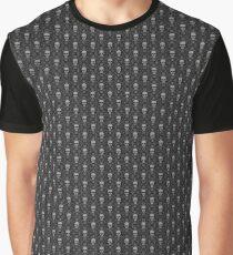 Sharp Savage Skull Pattern Graphic T-Shirt