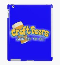 Pokemon meets craft beers iPad Case/Skin