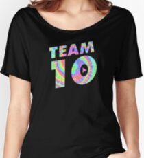 Team 10 Tie Dye Jake Paul Women's Relaxed Fit T-Shirt