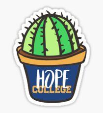 Hope College Cactus Sticker