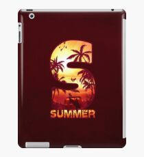 S for Summer iPad Case/Skin