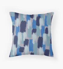 Blue Jean Baby Painted Throw Pillow
