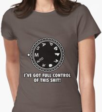 Full Control Womens Fitted T-Shirt