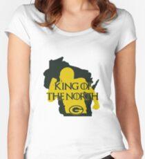 702826cfe King of the North Women s Fitted Scoop T-Shirt