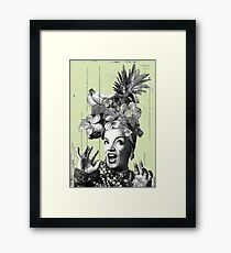 Tropical Miranda (Black & White Edition 2017) Framed Print