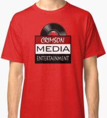 Crimson Media Entertainment Logo Classic T-Shirt