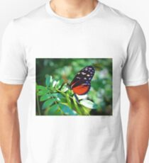 Tiger Longwing Butterfly Unisex T-Shirt