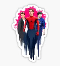 Peter Parker, drips.  Sticker