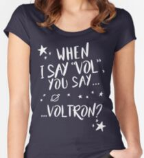 When I say...  Women's Fitted Scoop T-Shirt