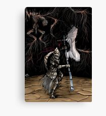 Dragonslayer Armour Canvas Print