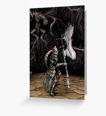 Dragonslayer Armour Greeting Card