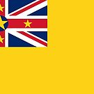 Niue Flag Products by Mark Podger