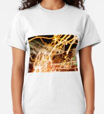 Crazy lights blurred zooming Classic T-Shirt