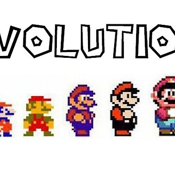 Evolution of Mario by Inzim-1