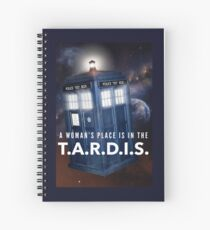 Equality Amongst The Time Lords Spiral Notebook