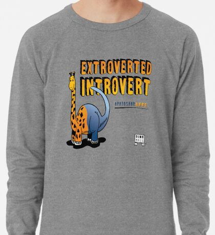 Extroverted Introvert Lightweight Sweatshirt